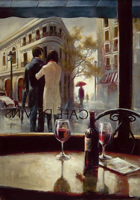 Cafe de Vins by Brent Heighton