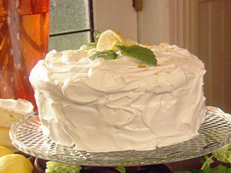 Paula's Lemon Cake recipe from Paula Deen via Food Network
