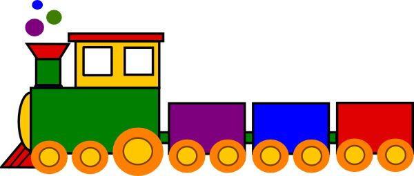 Cartoon Train   Super Train clip art - vector clip art online, royalty free & public ...