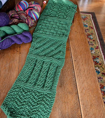 Ravelry You Can Do It Sampler Scarf Pattern By Jean