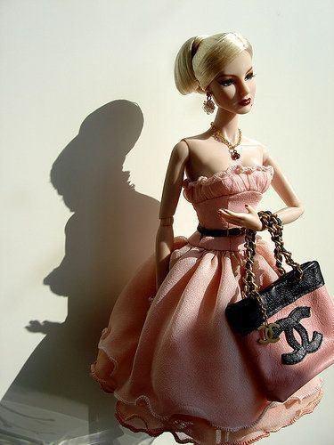 ElegantCoco Chanel, Barbie Girls, Chanel Barbie, Barbie Pink Style, Barbie Couture, Fashion Dolls, Barbie Dolls, Barbie Style, Chanel Dolls