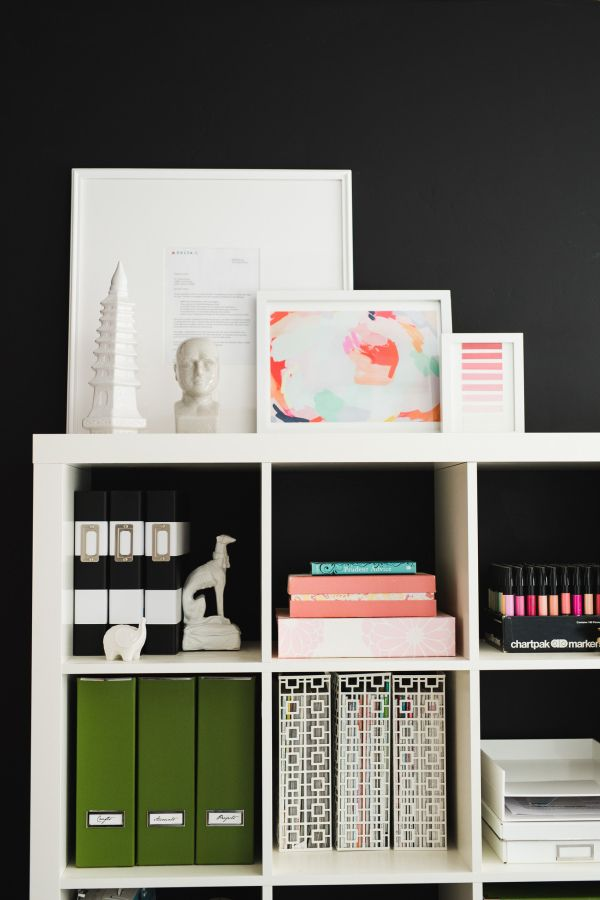 Bookshelves galore: http://www.stylemepretty.com/living/2015/09/28/house-of-jade-home-tour/ | Interior Design: House of Jade - http://www.houseofjadeinteriorsblog.com/