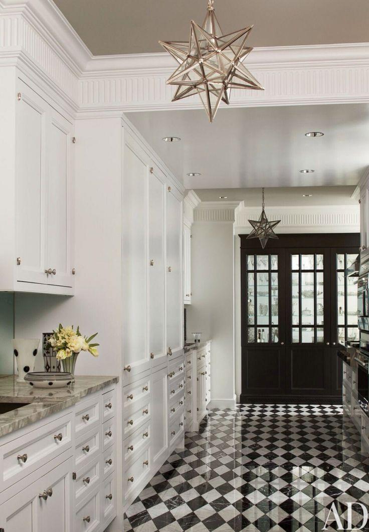 107 melhores imagens sobre Black and White Floors no Pinterest  Revestimento -> Sonhar Banheiro Feminino
