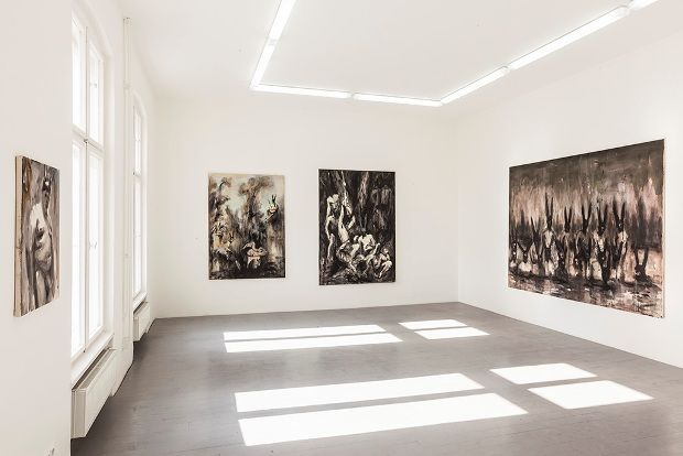 Andrej Dubravsky / Golden Sands #jirisvestkagallery #berlin #art #gallery #andrejdubravsky #goldensands