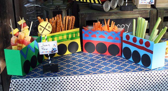 Thomas Train Treat Boxes - http://www.pbs.org/parents/birthday-parties/thomas-birthday-party/food/thomas-train-treat-boxes/