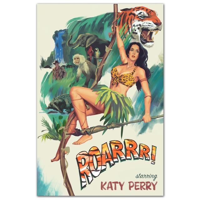 Check out Katy Perry Roar Poster on @Merchbar.