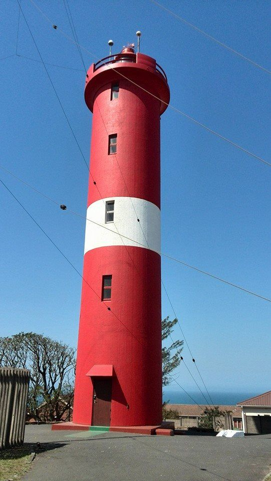 Bluff lighthouse in Durban.  The lighthouse in my city.  xx  Taken 6 Sept 2014
