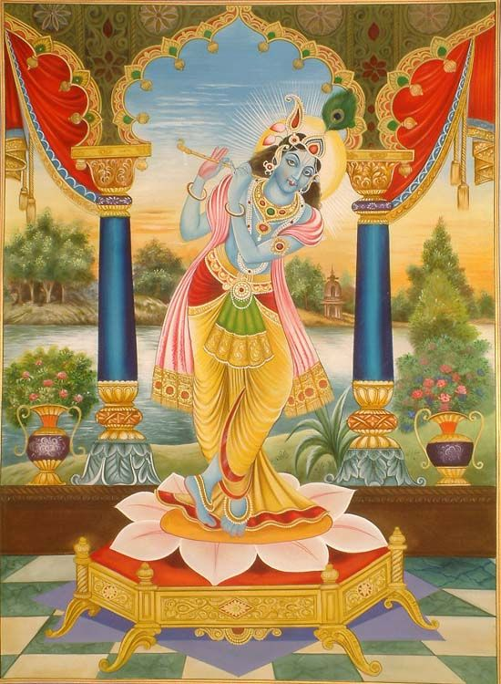 Krishna as venugopal