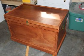 Two Bit Blog: How to Build a Tack Trunk, Part One