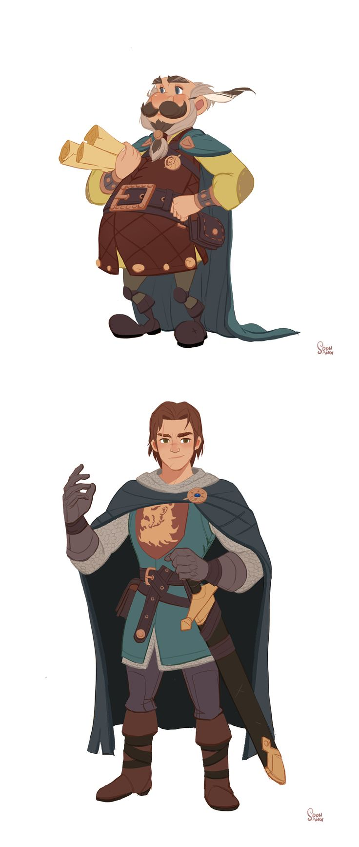 """Robin hood -""""The prince of blood"""" on Behance by Hong Soonsang"""