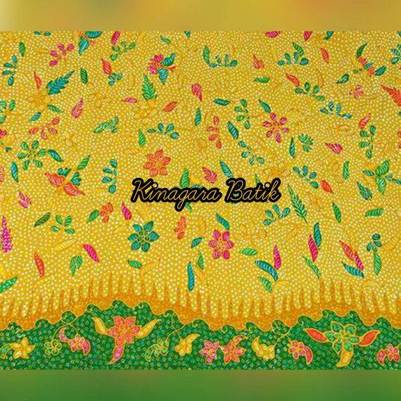Check out this item in my Etsy shop https://www.etsy.com/listing/486763654/hand-written-yellow-indonesia-batik