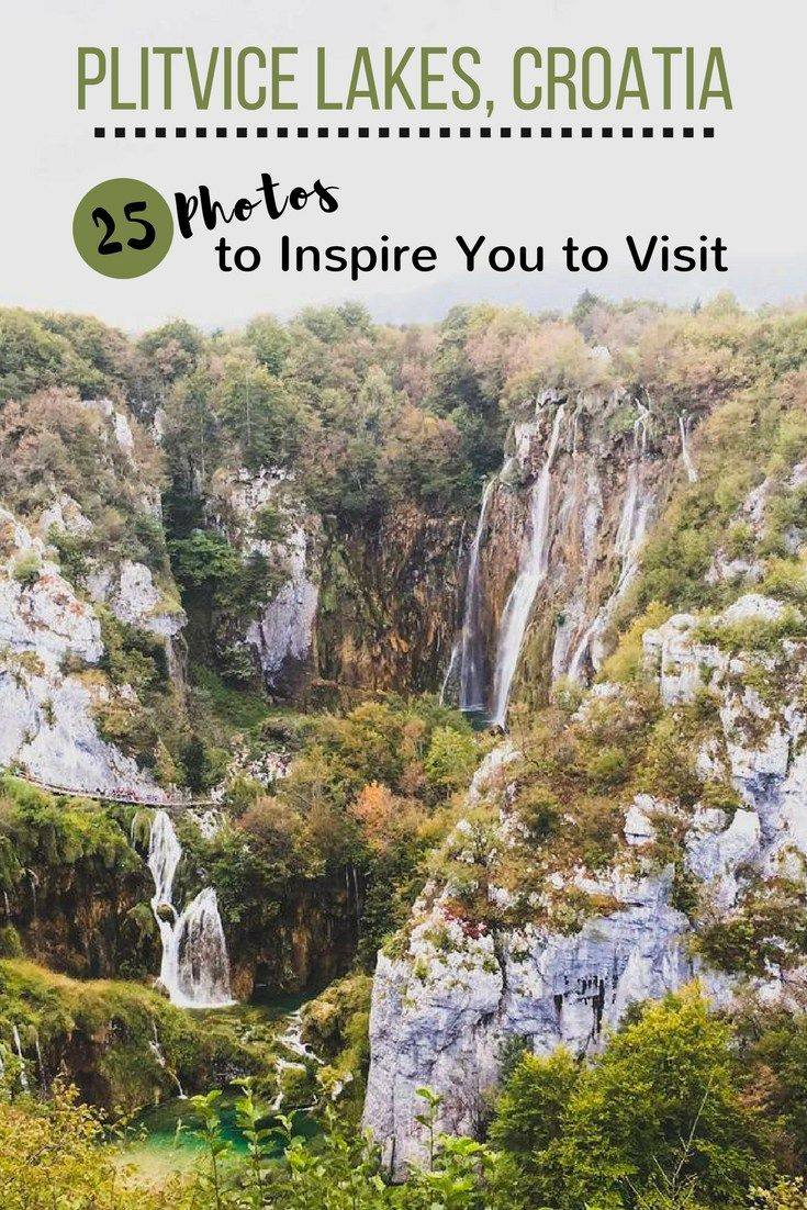 Plitvice Lakes National Park is a natural wonder unlike any other. Here are 30 photos to inspire you to visit Plitvice Lakes in Croatia!