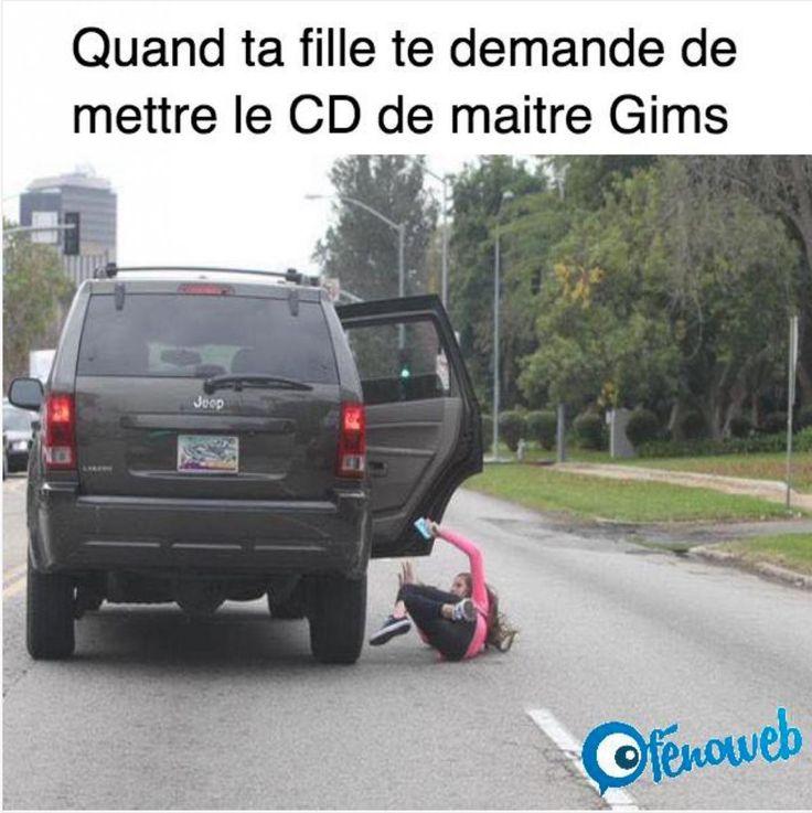Papa ... Tu peux mettre le CD de maître Gims .... | fénoweb