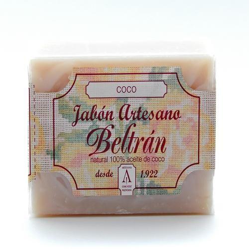 Jabón de Coco - Jabones Beltrán - 100gr, 2,50€ en Viva Nutrición - Suavizante y astringente para pieles normales y grasas.
