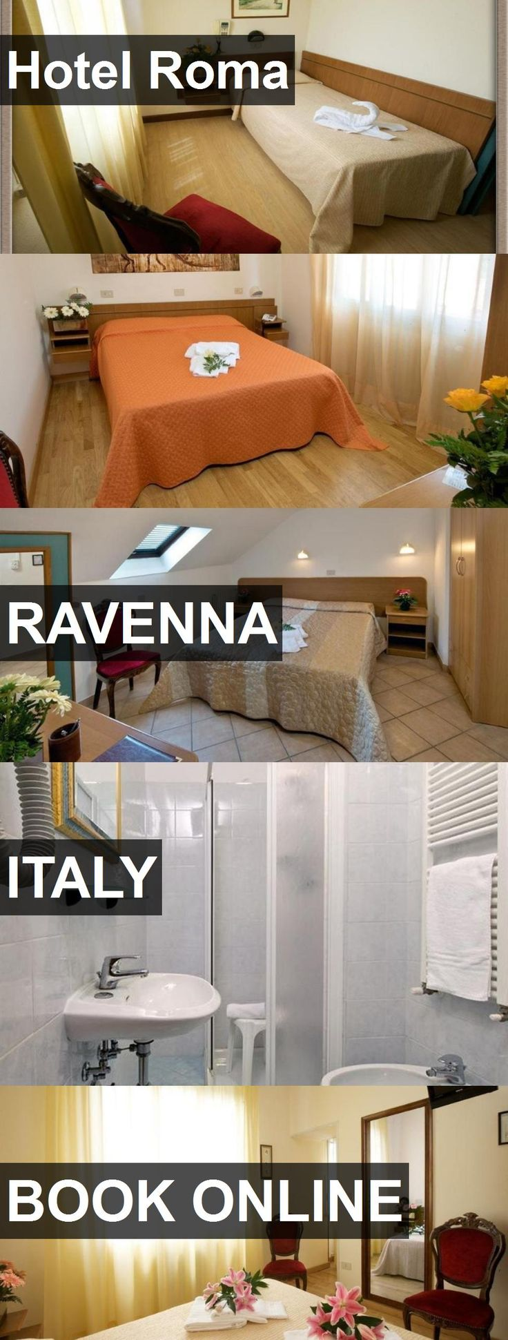 Hotel Roma in Ravenna, Italy. For more information, photos, reviews and best prices please follow the link. #Italy #Ravenna #travel #vacation #hotel