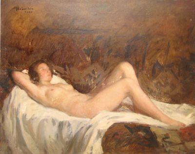 Ipolit Strâmbu  - Nud
