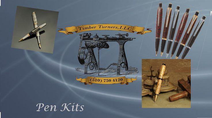 Pen Kits are a pen turner's favorite. These big pens are handsome & powerfully built writing instruments. Browse this site http://www.timberturners.com/ for more information on Pen Turning Kits. Pen making is fun with Comfort Pen Turning Kits, A wider slim line style that's easy to make and looks great.