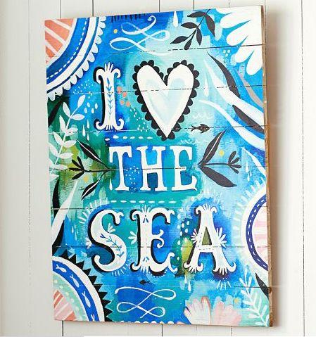 Beach Wall Art 646 best coastal art images on pinterest | coastal art, beach