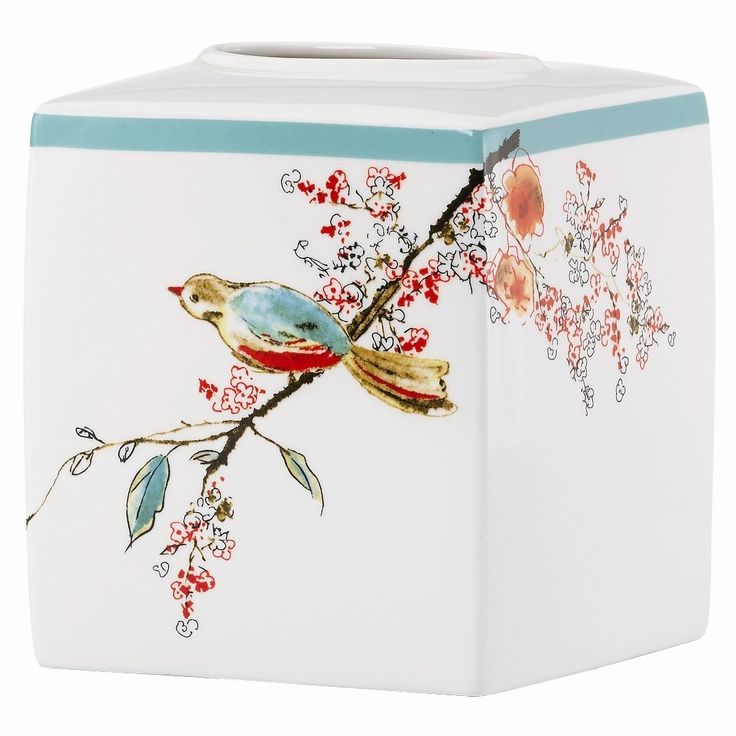 I adore this design from Lenox's Chirp collection