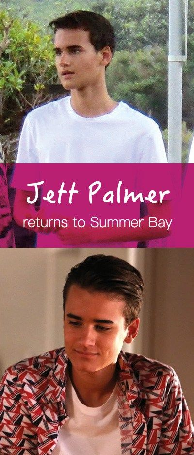 Jett Palmer (Will McDonald) is set to make his way back to Summer Bay when Home and Away returns in 2017 #homeandaway