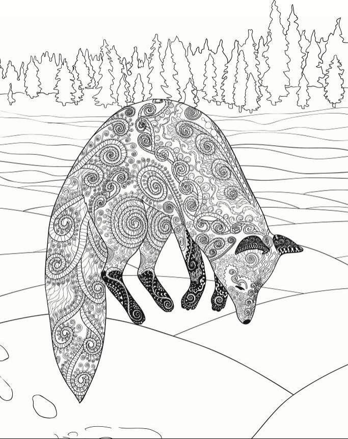 The Art of Zentangle: 50 Amazing Animal Designs for ...
