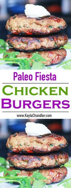 FULL of flavor! Burger patties that are low carb, gluten free, grain free, and paleo friendly!