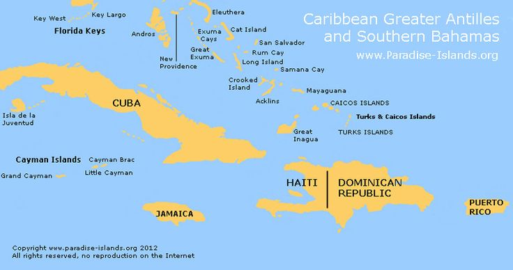 The Greater Antilles are one of the island groups in the Caribbean Sea…