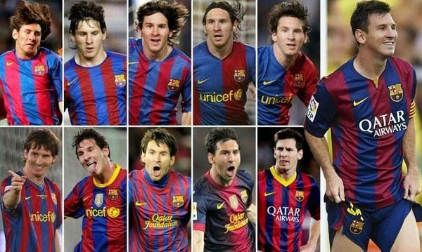 The Legend Lionel Messi: 10 years is enough for Messi to break down the num...