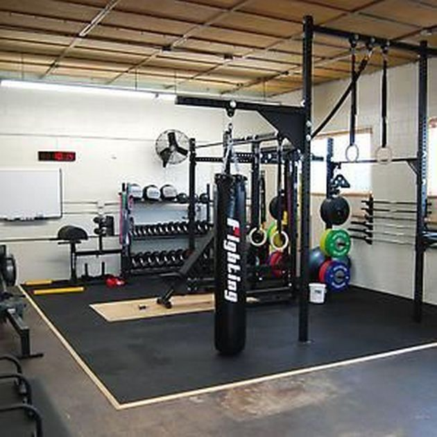 Basement Workout Area: Best 25+ Home Workout Rooms Ideas On Pinterest