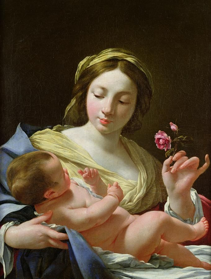 the-virgin-and-child-with-a-rose-simon-vouet.jpg (680×900)