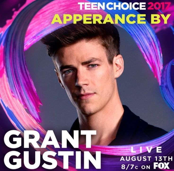 Grant Gustin // Live on Teen Choice Awards August 13th, 2017