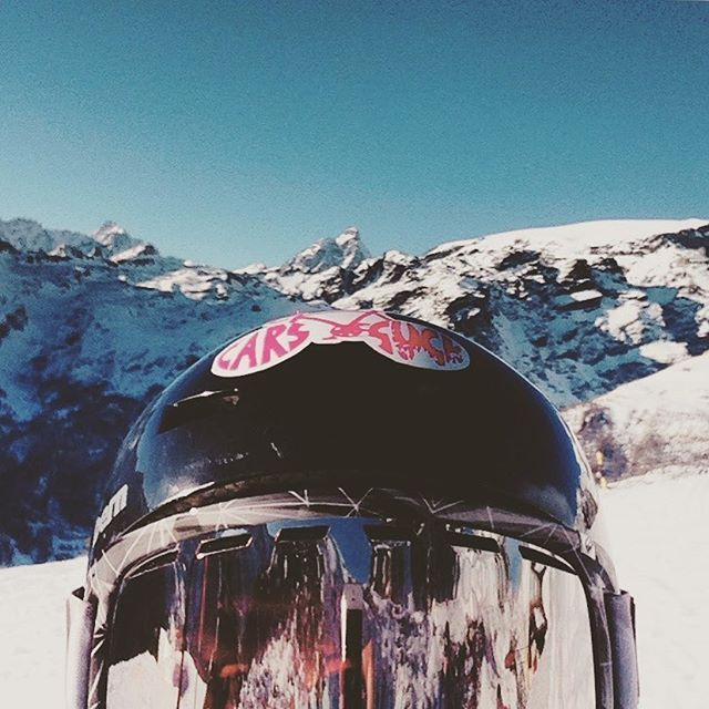 #cervino #monterosa #alps #mountains #valledaosta #italy #helmet #goggles #snowboarding