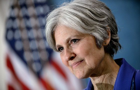 Jill Stein: Trump Is Less Dangerous Than Clinton; She Will Start Nuclear War With Russia Green party presidential candidate Jill Stein says Donald Trump is less scary on foreign wars, because he wants to work with Russia. http://www.realclearpolitics.com/video/2016/10/12/jill_stein_hillary_clintons_declared_syria_policy_could_start_a_nuclear_war.html