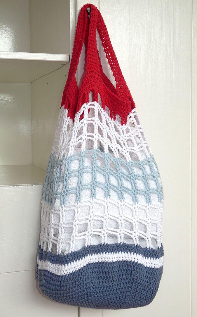 Studio 92 Designs: Rood, wit, blauw met patroon