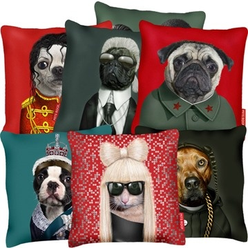 Mercedes Of Jackson >> Pets Rock pillows | kuddar, pillow, pug, mops, Lady Gaga ...