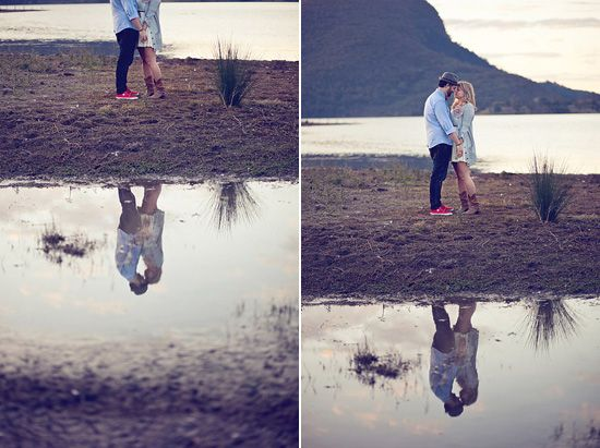 Elska and Adrian's Country Style Engagement Shoot