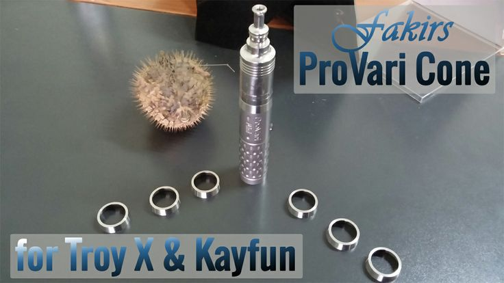 ProVari Cone for Troy X & Kayfun 23 mm. to 22 mm. http://www.fakirsmods.com/products/equipments/provari-cone  #vaper #vapors #ecigs #smoking #vapes #vape #vapelife #vapecommunity #vaping #vapelyfe #vapeporn #vapepics #vapebaby #vapegirl #vaporgirl #girlsvapetoo #girlswhovape #subohm @vapeporn @Vape Lyfe @Vapor Apes #ECIGZZ