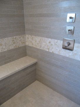 Leonia Sand Porcelain Backsplash Tile Redondo Beach Contemporary Bph Contemporary Tile Bath