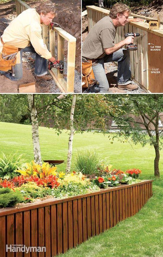 Cuando nuestro jardín tiene un cierto grado de pendiente es aconsejable crear muros de contención para que el agua no erosione la tierra. Es digamos un uso eminentemente práctico pero ello no quita…