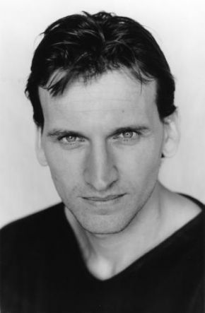 "Christopher Eccleston the Ninth Doctor in the ""Doctor Who"" series."