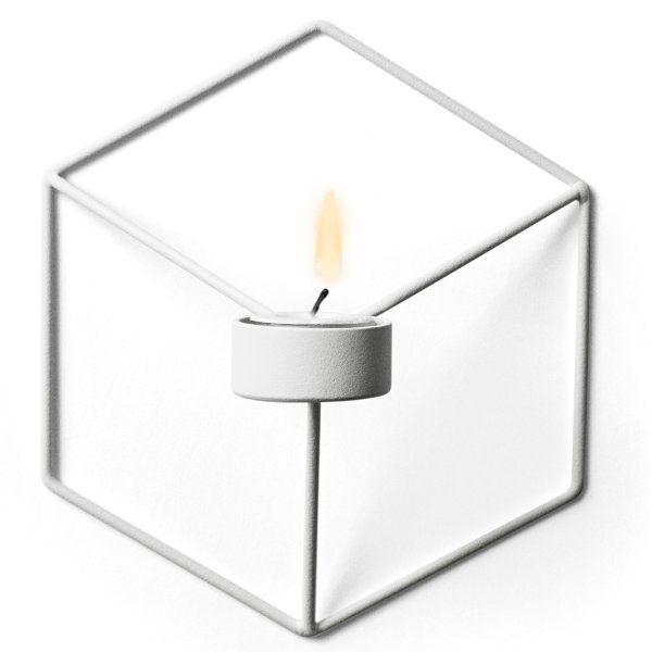 Kerzenhalter POV Wall weiß von Menu