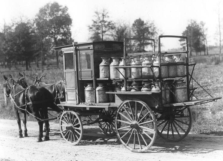 Diary wagon.