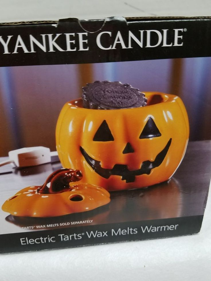 Yankee Candle Jack O Lantern Pumpkin Electric Tart Warmer New   Home & Garden, Home Décor, Candle Holders & Accessories   eBay!