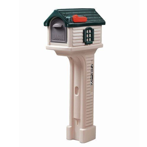 Mail Box Post Mailbox Outdoor Magazines Packages Postal Code Storage Exterior #Step2