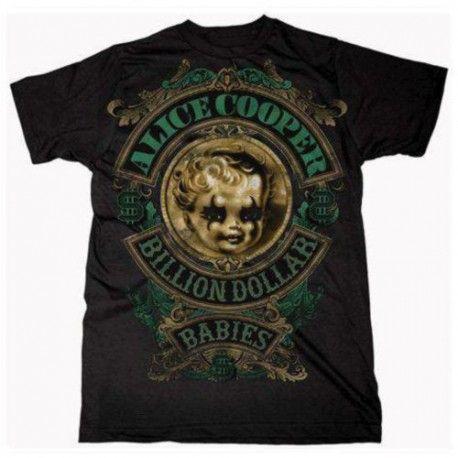 Alice Cooper: Billion Dollar Baby Crest (tricou)