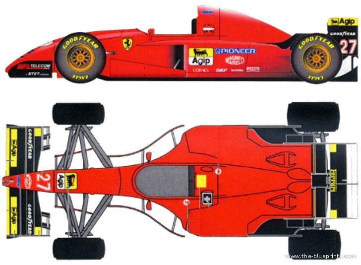 161 best images about f 1 blueprint on pinterest jordans for Formula 1 pinewood derby car template