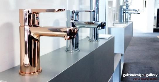 New Luxe Enza Rose Gold finish on display in the Design Gallery