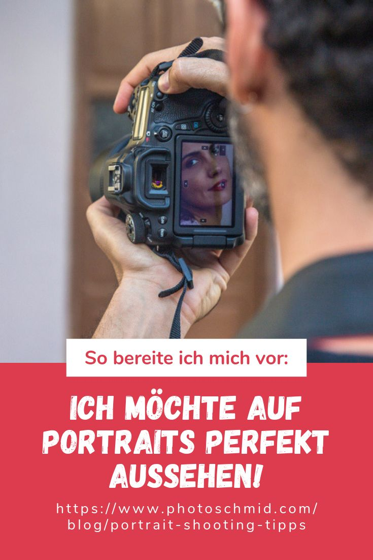 Vorbereitung für Porträt-Shooting