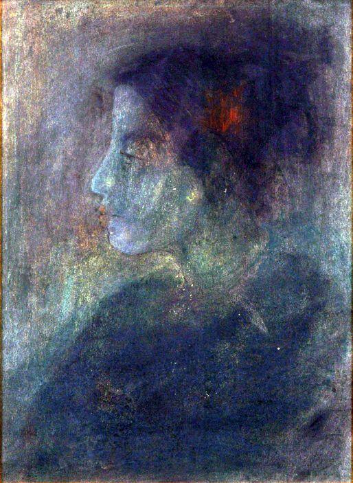 Abanindranath Tagore (1871-1951):WOMAN IN PROFILE
