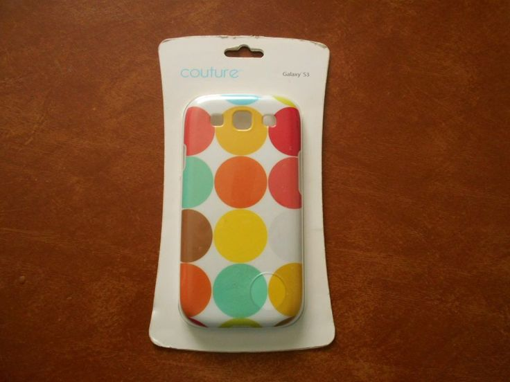 Couture Galaxy S3 Protective Phone Case New #Couture